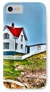 Nubble Lighthouse Cape Neddick Maine 2 IPhone Case