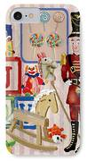 Nutcracker And Friends IPhone Case by Arline Wagner