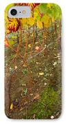 Nute Watches The Vines IPhone Case by Jean Noren