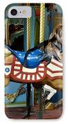 Nyc - Old Glory Pony IPhone Case by Richard Reeve
