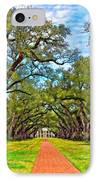 Oak Alley 3 Oil IPhone Case
