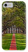Oak Alley II IPhone Case by Steve Harrington