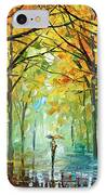 October In The Forest IPhone Case by Leonid Afremov