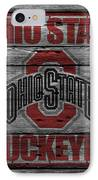 Ohio State Buckeyes IPhone Case by Joe Hamilton