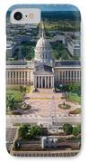 Oklahoma City State Capitol Building A IPhone Case by Cooper Ross