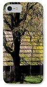 Old Barn IPhone Case by Ron Sanford