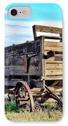 Old Covered Wagon IPhone Case by Athena Mckinzie