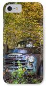 Old Dodge IPhone Case by Debra and Dave Vanderlaan