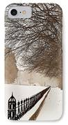 Old Fashioned Winter IPhone Case