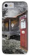 Old Gas Pump IPhone Case by Debra and Dave Vanderlaan