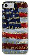 Old Glory IPhone Case by Robyn Stacey
