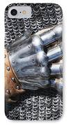 Old Glove Of A Medieval Knight IPhone Case by Matthias Hauser