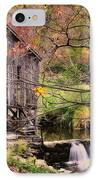 Old Grist Mill - Kent Connecticut IPhone Case