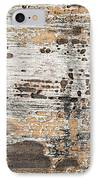 Old Painted Wood Abstract No.1 IPhone Case by Elena Elisseeva