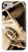 Old Press Camera IPhone Case by Edward Fielding