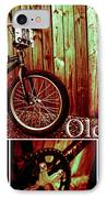 Old School Bmx - Pk Collage Colour IPhone Case