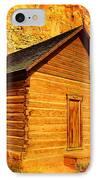 Old Schoolhouse Near Capital Reef Utah IPhone Case by Jeff Swan