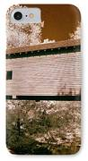 Old Time Covered Bridge IPhone Case