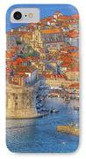 Old Town Dubrovnik IPhone Case