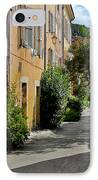 Old Town Of Valbonne France  IPhone Case by Christine Till
