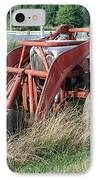 Old Tractor IPhone Case by Jennifer Ancker