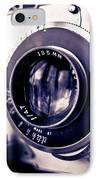 Old Vintage Press Camera  IPhone Case