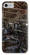 Old West Wagon Storage And Shop IPhone Case