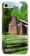 Oliver Cabin 1820s IPhone Case by David Lee Thompson