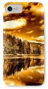On Golden Pond IPhone Case by David Patterson