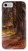 On The Bank Of River Volga IPhone Case by Jenny Rainbow