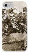 On The Expedition To Pao-ting-fu A IPhone Case by Stanley L. Wood