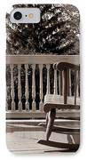 On The Porch IPhone Case by Olivier Le Queinec