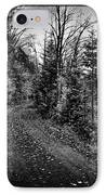 On The Way To Cary Lake IPhone Case by David Patterson