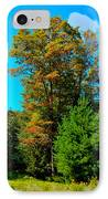 On Top Of Maple Ridge - Old Forge New York IPhone Case by David Patterson