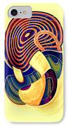 One Clean Print - Bright IPhone Case by Wendy J St Christopher