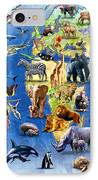 One Hundred Endangered Species IPhone Case
