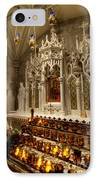 One Of The Twelve Stations Of The Cross In St Patricks Cathedr IPhone Case