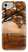 One Tree Hill IPhone Case by Lois Bryan