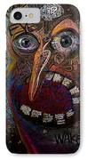 Open Your Eyes IPhone Case by Frank Robert Dixon