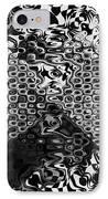 Organic Optical Illusion 8 IPhone Case