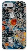 Oriental Moonlight IPhone Case by Carolyn Doe