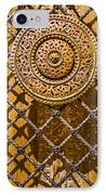 Ornate Door Knob IPhone Case by Carolyn Marshall