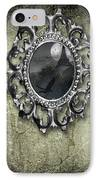 Ornate Metal Mirror Reflecting Church IPhone Case