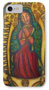 Our Lady Of Glistening Grace IPhone Case by Marie Howell Gallery