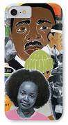 Our Recent Past Revisited - Hope IPhone Case by Martha Rucker