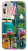 Ouray Street Lamp IPhone Case by Trisha Buchanan