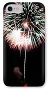 4th Of July Fireworks 4 IPhone Case by Howard Tenke