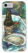 Oyster And Amber IPhone Case by Dianne Parks