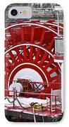 Paddle Wheel IPhone Case by Tom and Pat Cory
