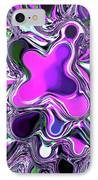 Paint Ball Color Explosion Purple IPhone Case by Andee Design
